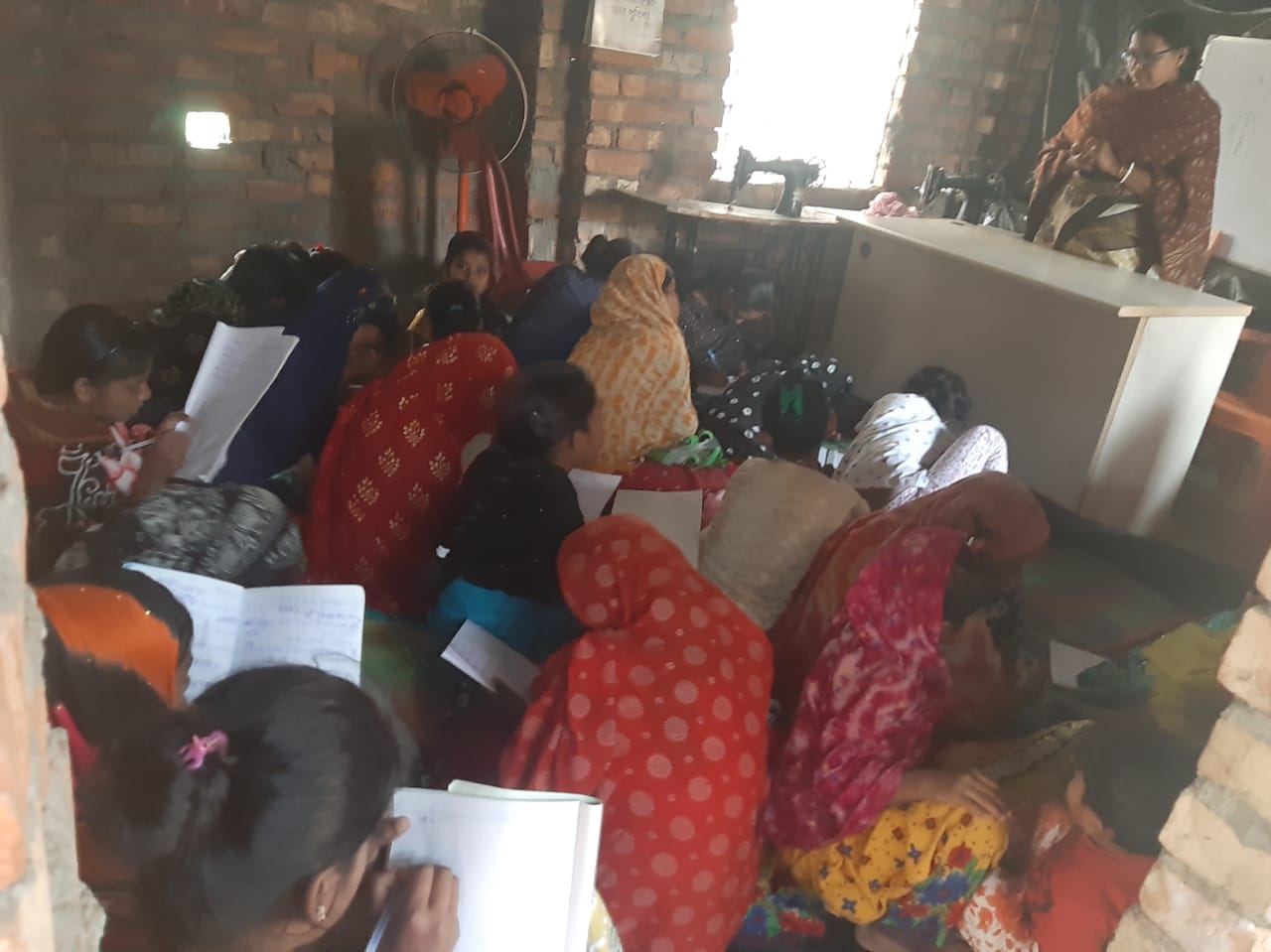Tailoring Training By Mukti To The Mcdf Members Of Basanti B...