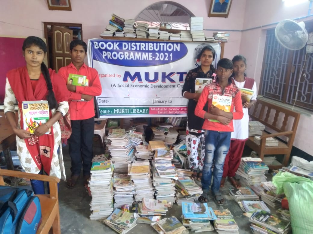 Book Distribution Program By Mukti Book Bank For The Year 20...