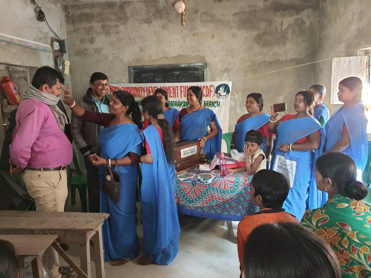 Agm Of The Mcdf Members Of Raghunathpur Branch