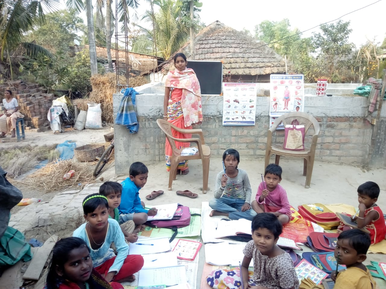 Books Were Distributed To The Students Of Mama School