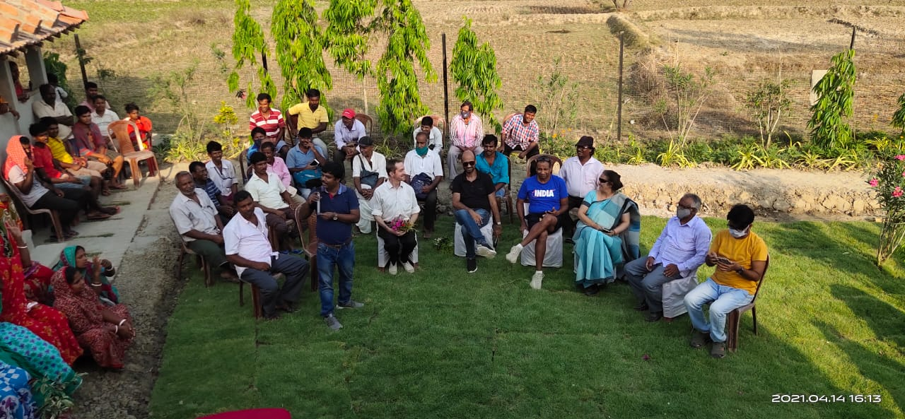 Mukti Invited The Villagers Of Mukti Gram To Experience The Model Houses