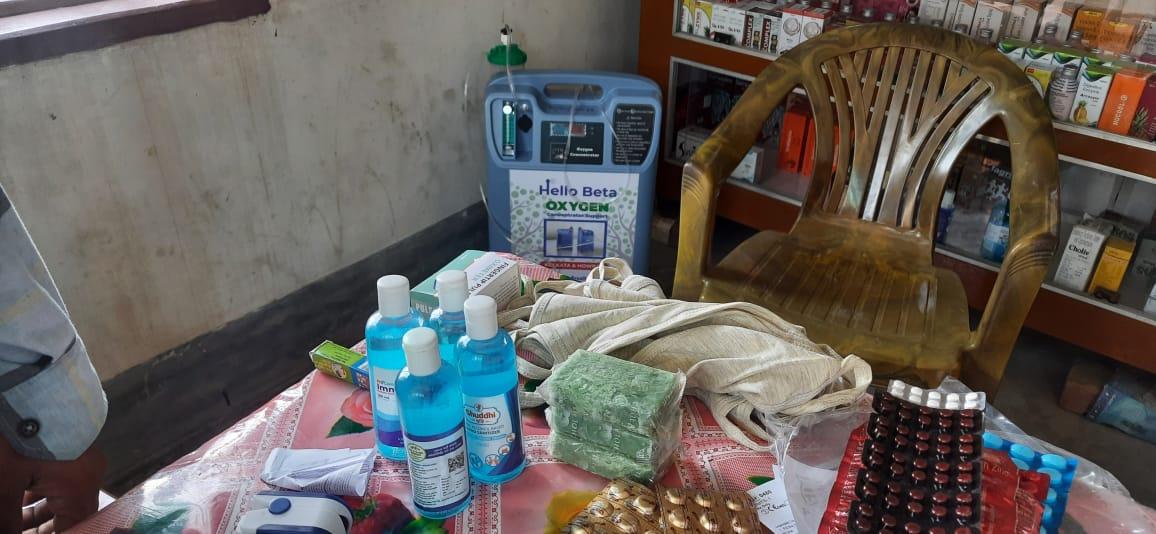 Mukti Provided Two Oxygen Concentrators At Oxygen Parlor Of Krishna Chandrapur Under Mathurapur I Block