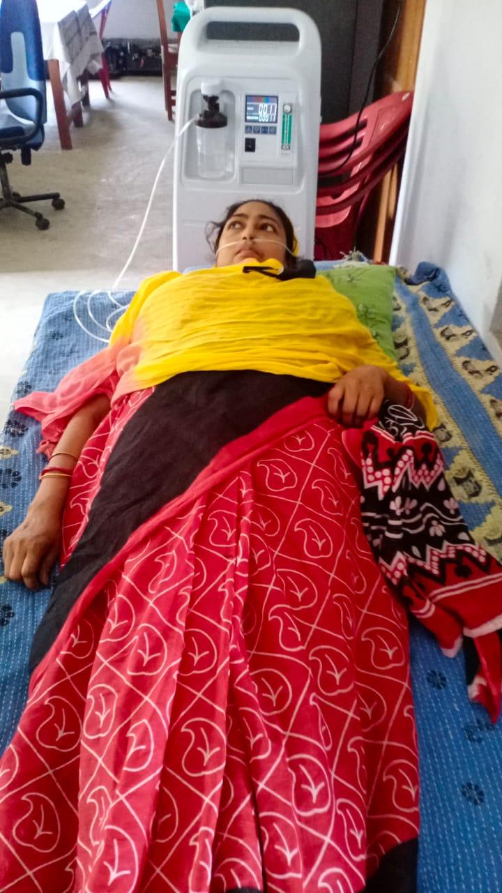 Mukti Covid-care Unit (mccu) Started Serving The Covid Patients At Krishna Chandrapur