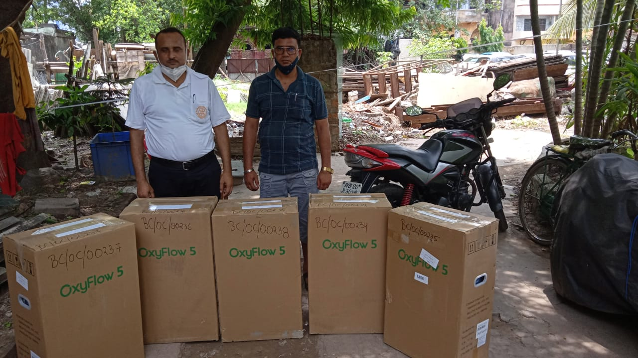 Oxygen Concentrators Are Going To Murshidabad