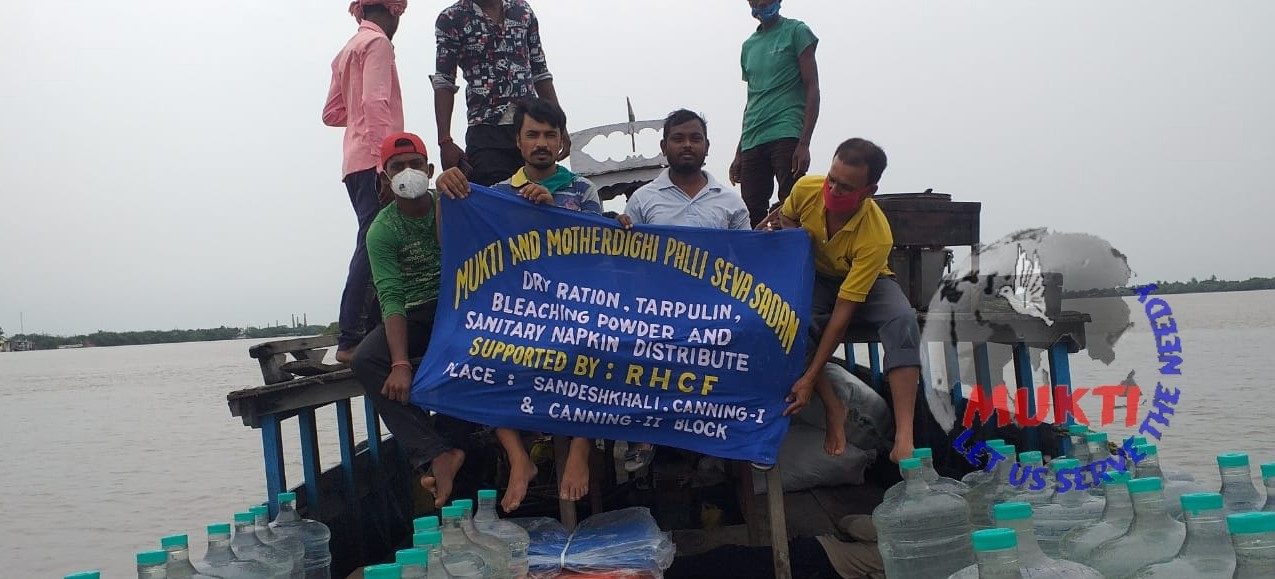 Mukti Volunteers Reached At Sandeskhali Ti Help The Yaas Vic...