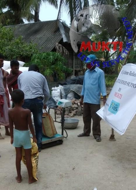 Mukti Distributed Animal Fodder At Redhokhali Village Under ...