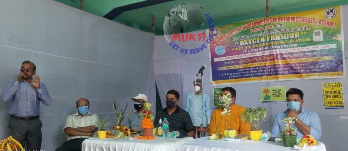 In Collaboration With Mukti, Asfhm Inaugurate  The Oxygen Parlor In Barrackpore Educational District