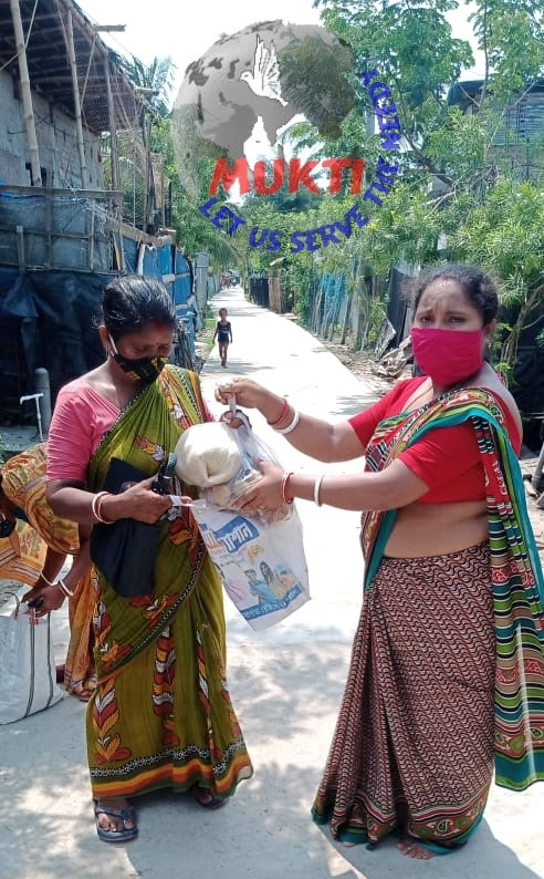 Mukti Distributed Dry Ration To The Yaas Affected Villagers ...