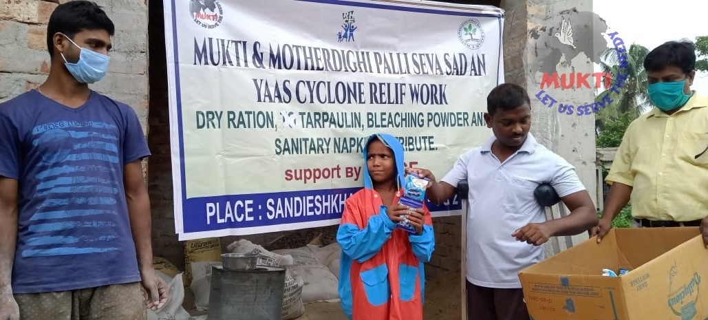 Children Nutrition Foods Were Distributed By Mukti At Sandes...