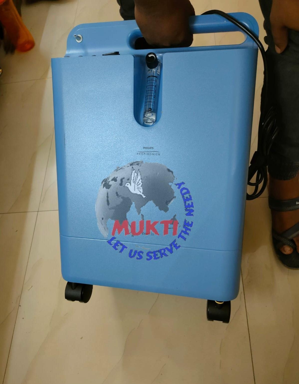 Mukti Covid Care Unit - Sewa International Helping Covid Patients To Breathe