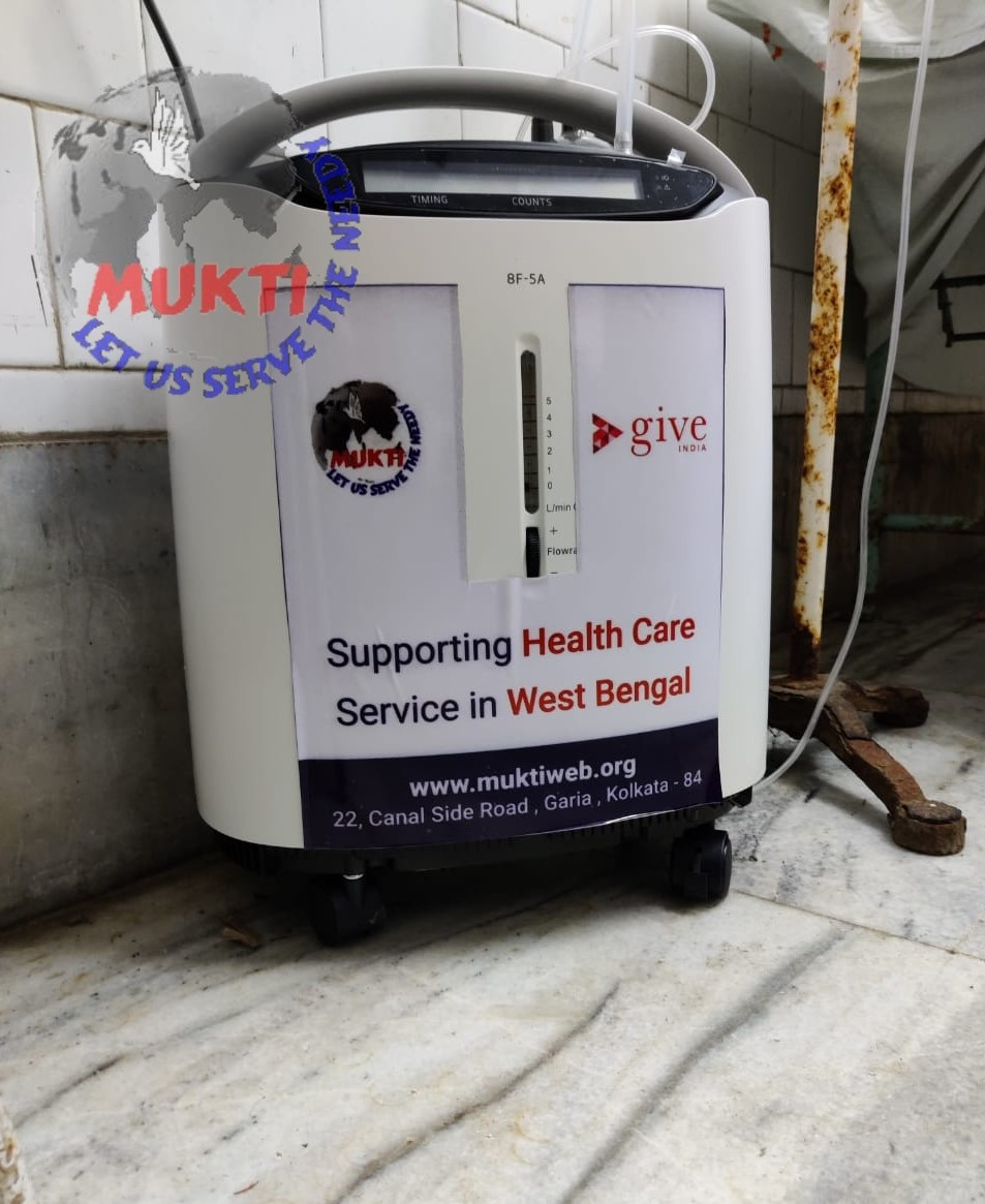 Mukti And Give India Serving The Covid Patients With Oxygen Concentrators