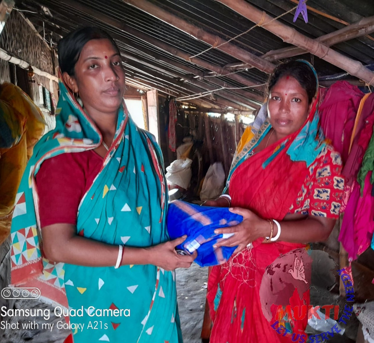 Mukti Distributed Mosquito Net To The Yaas Affected Families...