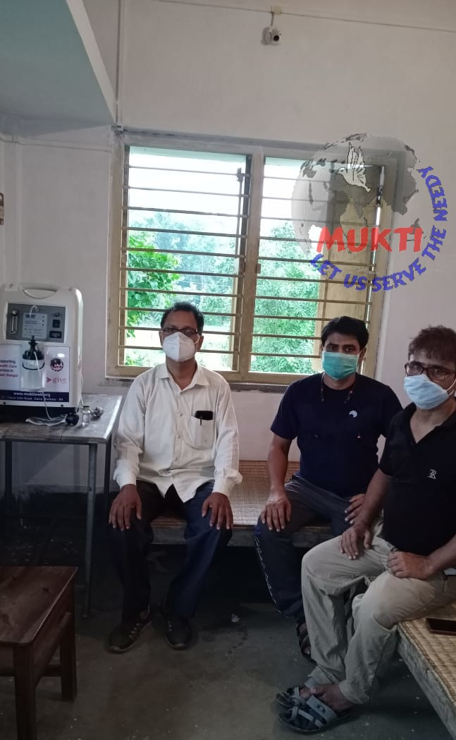 Mukti With Asfhm Inaugurated An Oxygen Parlor At Po Thakurchawk, Paschim Medinipur