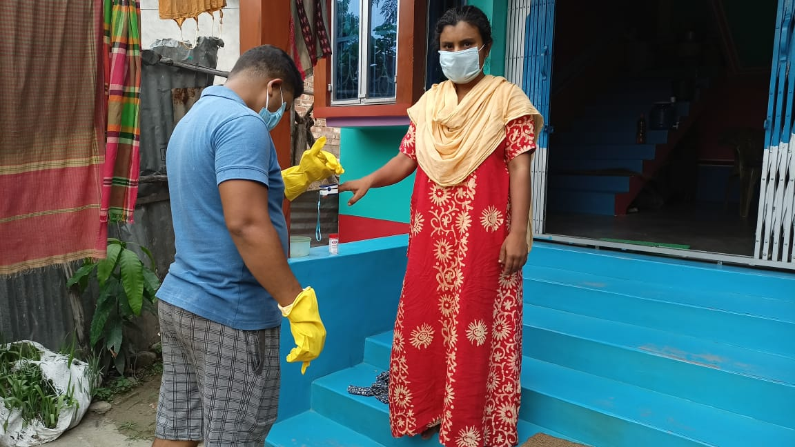 Mukti With Asfhm Inaugurated Oxygen Parlor At Angraghata U M Institute Under Ranaghat Subdivision And Nadia District