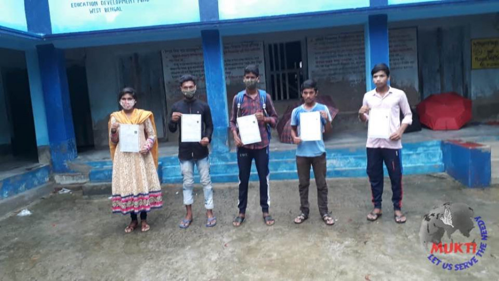 Mukti Support School (mss) Madhyamik 2021 Passed Out Student...
