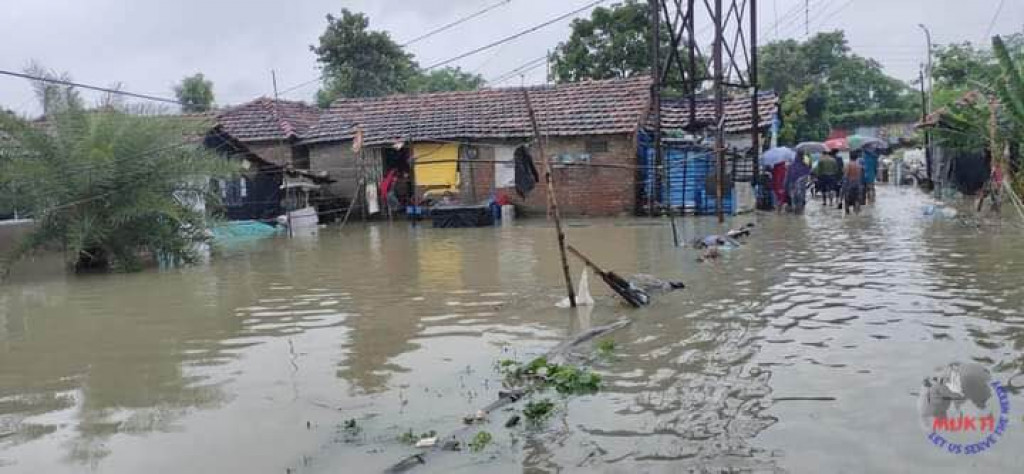 Flood Water Entered Into The Villages Of Nandigram Of Purba ...