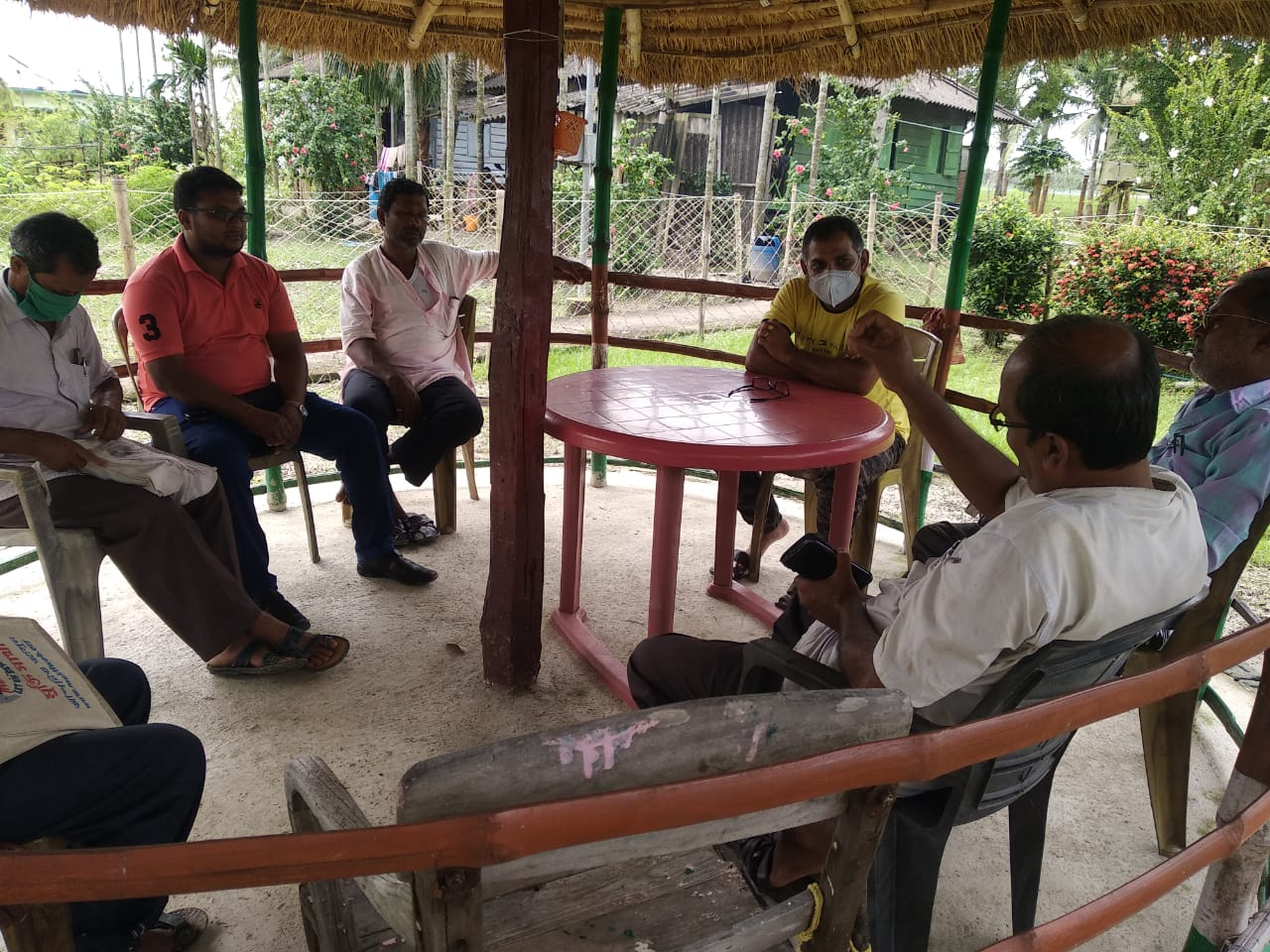 Mukti Organized A Meeting With The Forest Department For The...