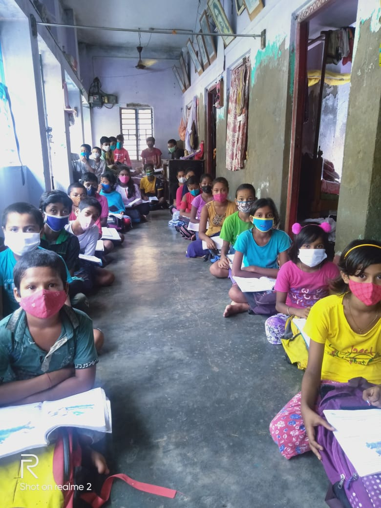 Kolkata Gives Supported For The Mukti Support School Of (mss...