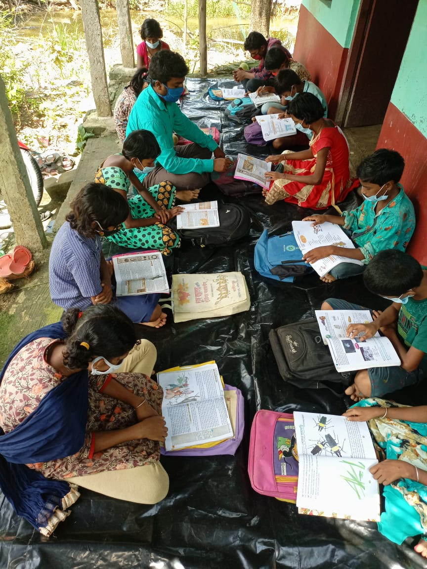 Kolkata Foundation Supported  The Mukti Support School (mss)...