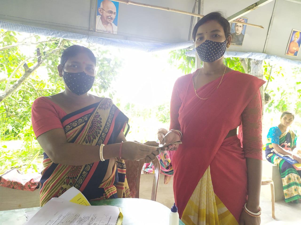 Mukti Distributed Loan To The Mcdf Members Of Kakdwip Branch