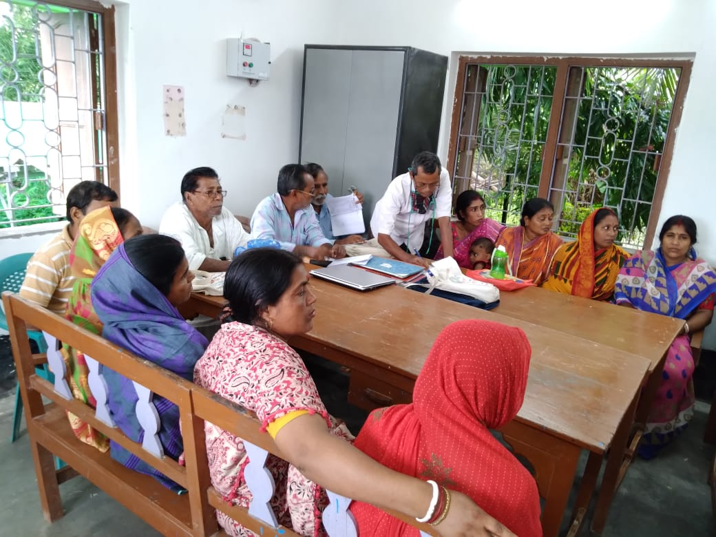 Mukti Organised A Meting On Post- Plantation Caring Methods Of The Roadside Trees At Mukti Library Office