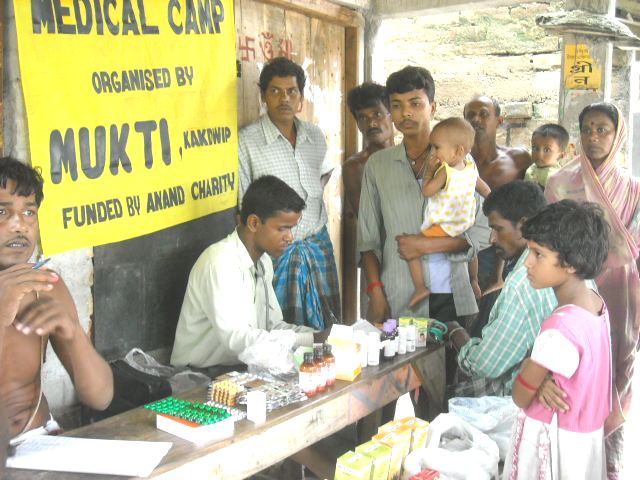 Donate to Medical Camps organized by MUKTI