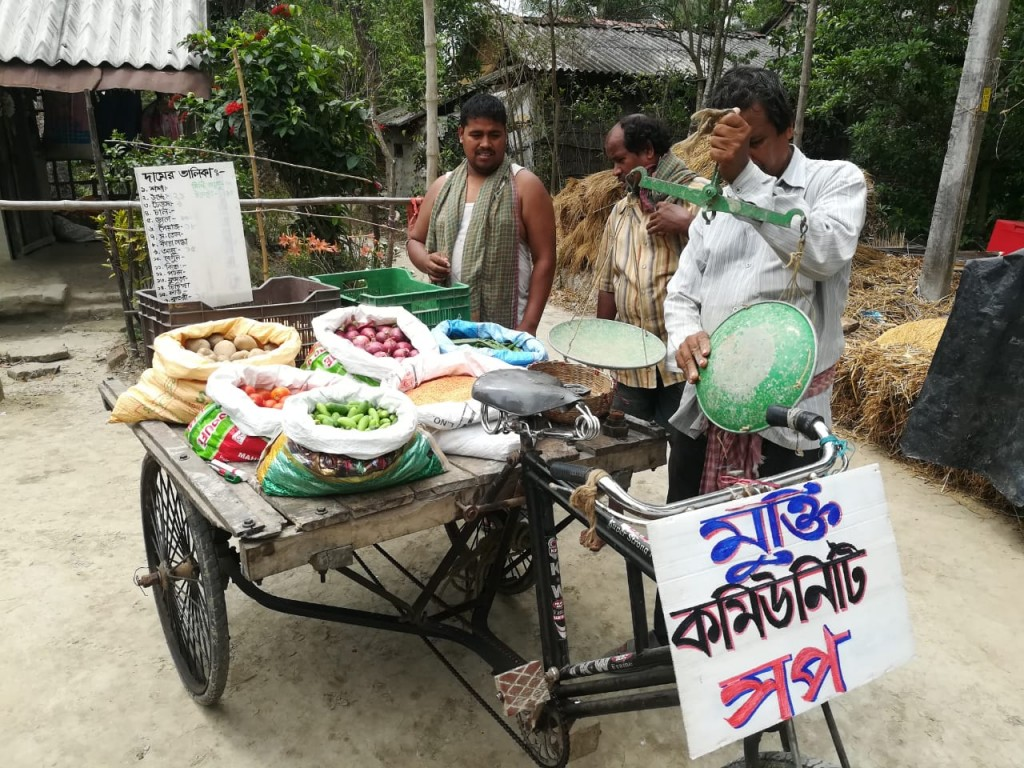 MUKTI Community Shop to Support Villagers during Lockdown due to COVID19