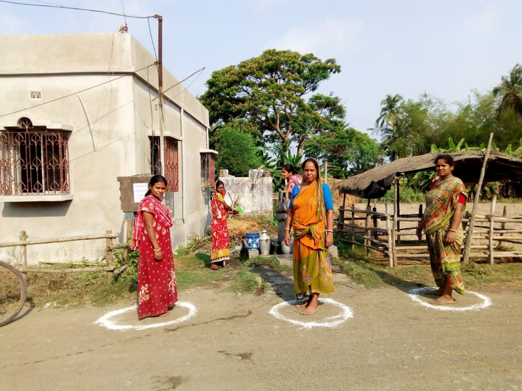 Awareness and Sanitizing of Deep Tube wells at Villages due to COVID19