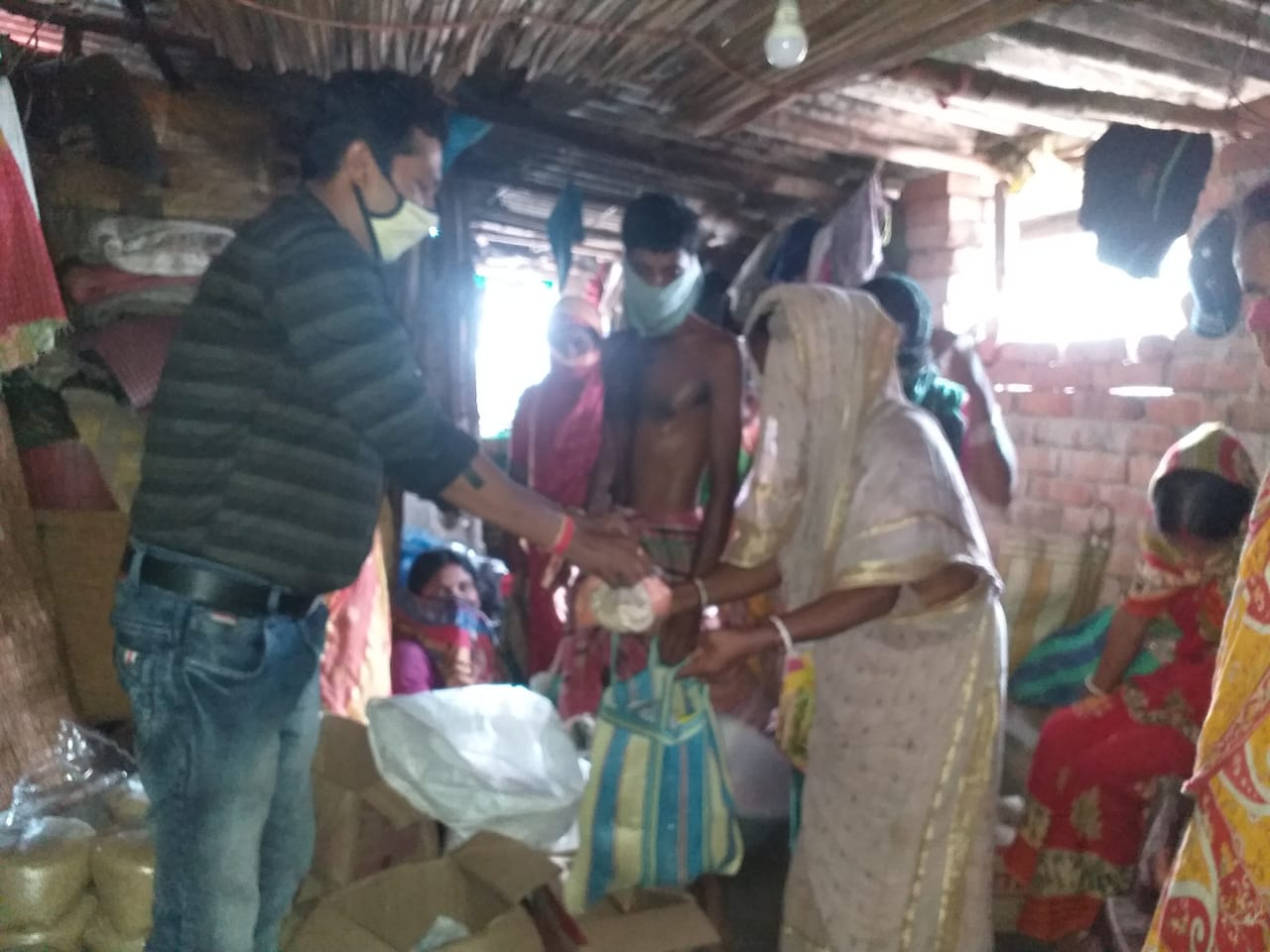 Mukti Extends Dry Ration Distribution Drive to New SHG Members of Jalabaria