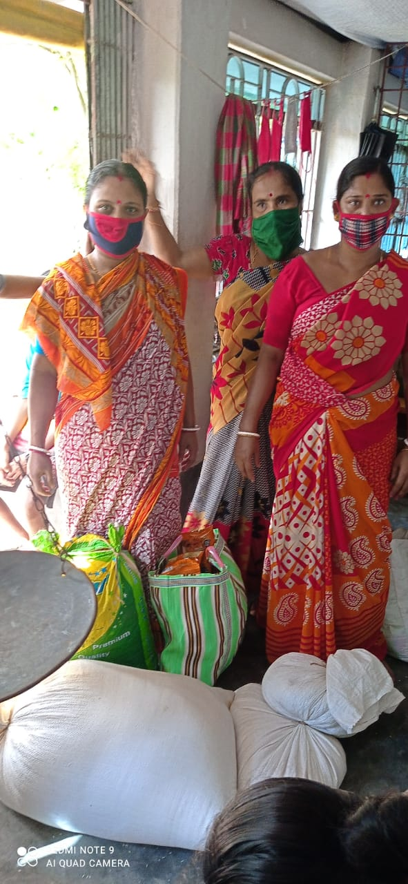 Essential Items for Livelihood Were Distributed by Mukti at Kakdwip