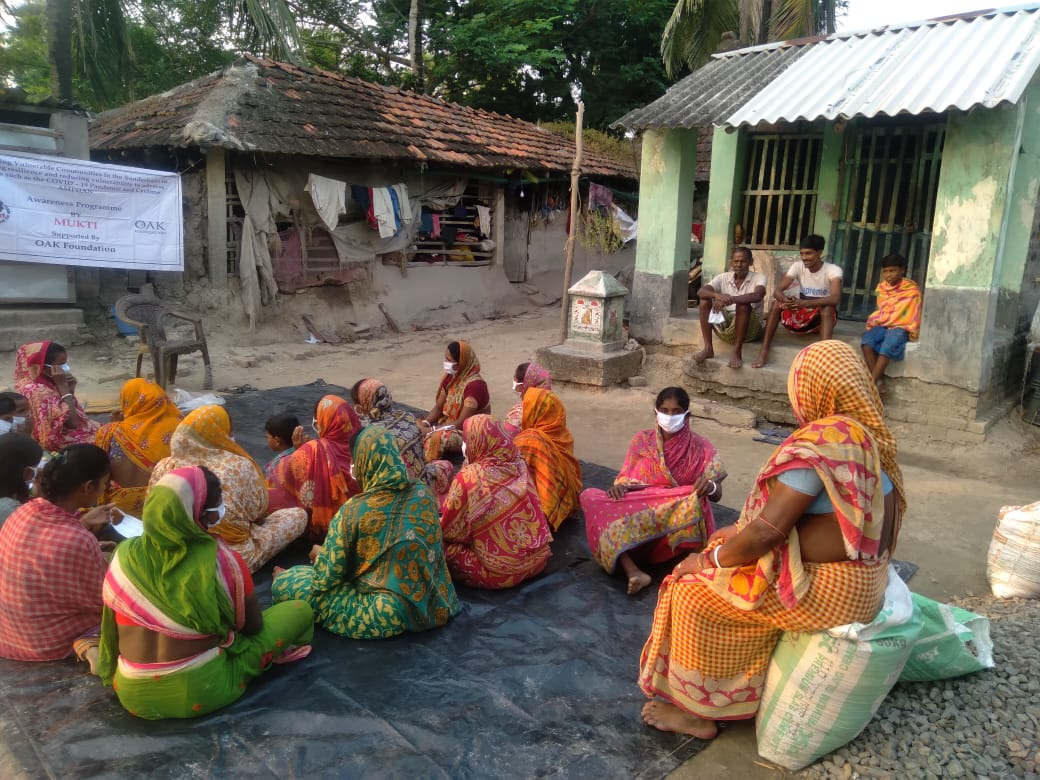 Mukti Conducted Awareness Programs for the Well Being of the Villagers at Sunderban