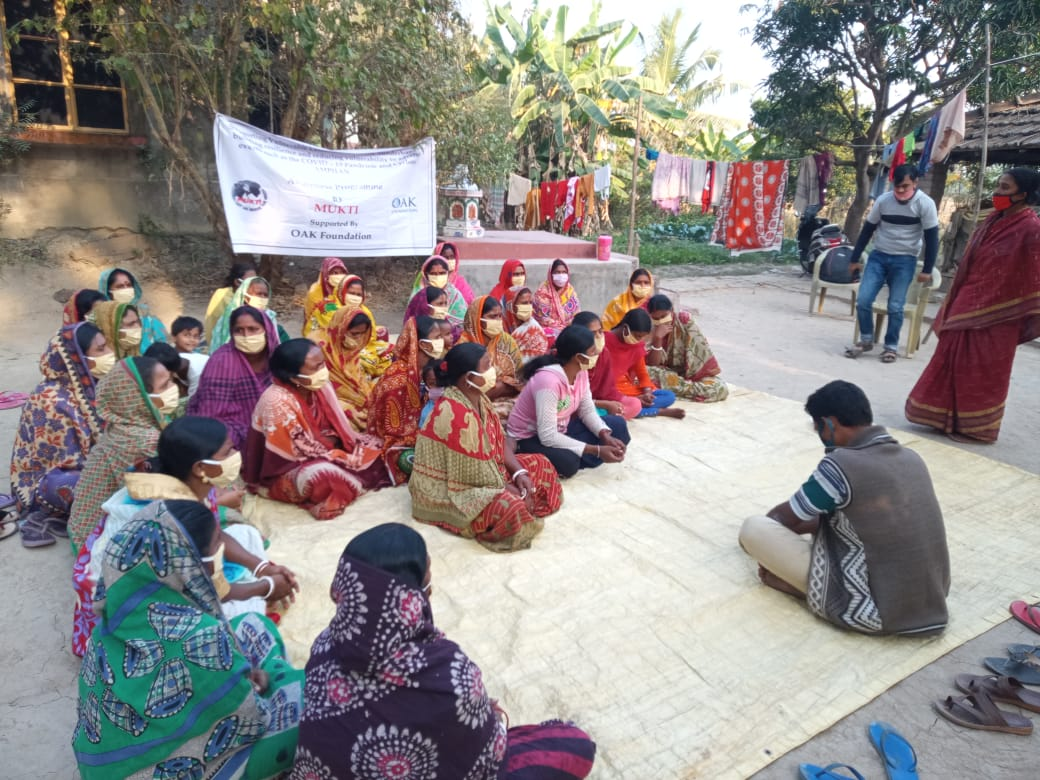 Awareness Campaigns of Mukti on the Month of December, 2020