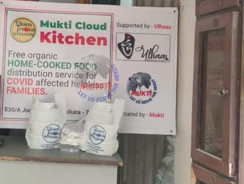 Mukti Cloud Kitchen: in Service of the Covid Affected Families
