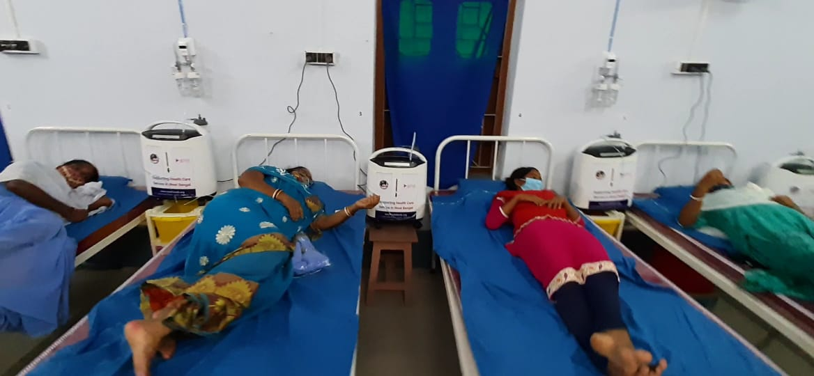 Give India Supported Mukti with 170 Oxygen Concentrators to Save Precious Lives