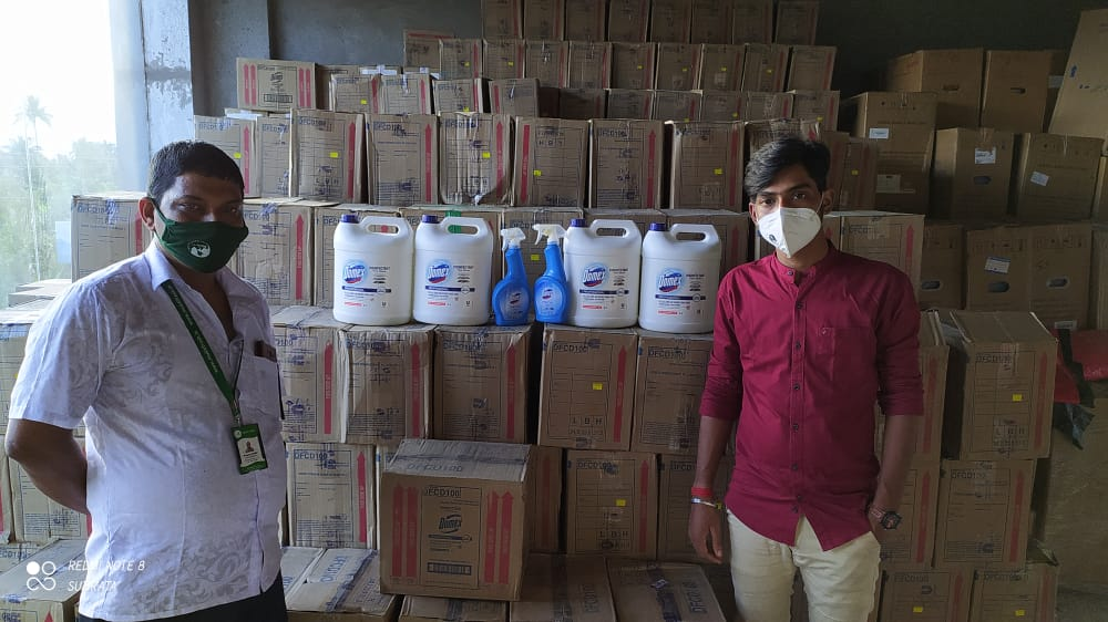 Hindustan Unilever Supported Mukti with Hygiene Products