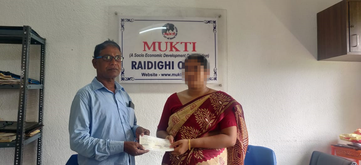 Financial Support of Rs. 2,70,000 by Mukti through Give India to Those who Died of Covid-19, Second Wave